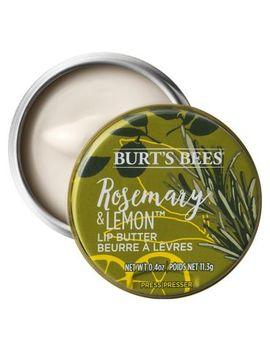 Burt's Bees 100% Natural Moisturising Lip Butter With Rosemary & Lemon, 11.3g by Burt's Bees