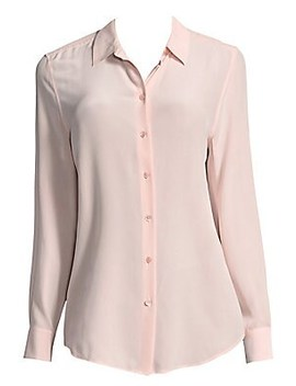 Silk Button Down Blouse by Equipment