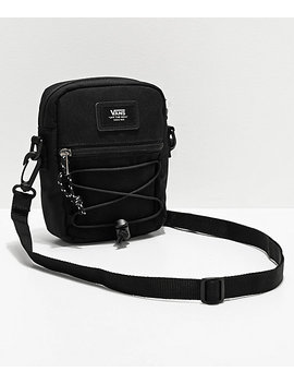 Vans Warp Black Shoulder Bag by Zumiez