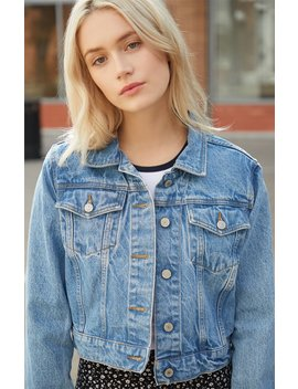 John Galt Medium Indigo Travis Denim Jacket by Pacsun