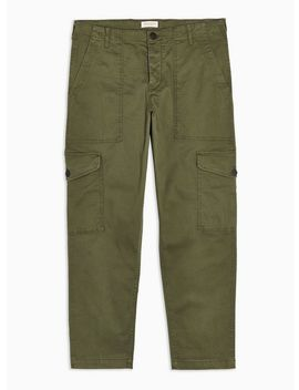 Selected Homme Green Danny Cargo Trousers by Topman