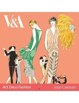 2020 Art Deco Prints Wall Calendar (Calendar) by Waterstones