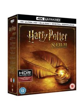 Harry Potter: The Complete Collection 4 K Uhd Blu Ray 872/9912 by Argos