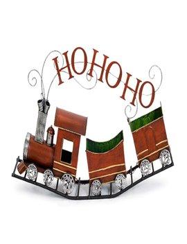 Metal Ho Ho Ho Train by The Holiday Aisle
