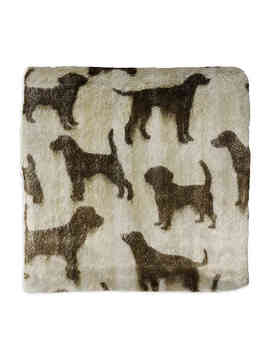 Micro Sherpa Pet Throw Blanket In Tan by Bed Bath And Beyond