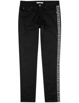 Logo Jacquard Slim Leg Jeans by Givenchy