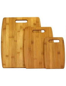 Oceanstar Design 3 Piece Bamboo Cutting Board Set by Joss & Main