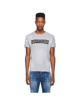 Grey Chic Dan T Shirt by Dsquared2