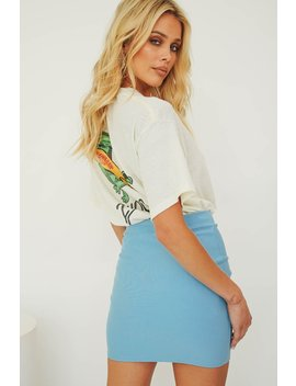 Out Of Mind Mini Skirt // Sky by Vergegirl