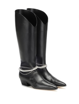 Mexico Leather Boots by Magda Butrym