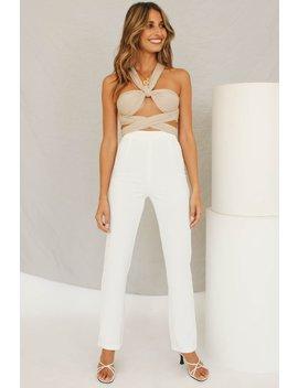 Fashion Week Pants // White by Vergegirl