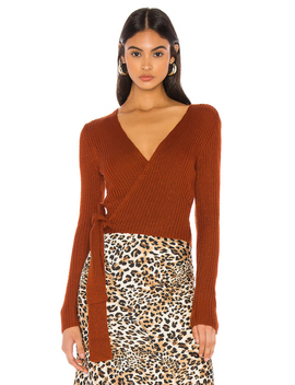 Lyla Wrap Sweater by Majorelle