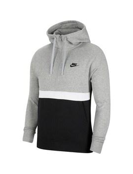 Big &Amp; Tall Nike Sportswear Club Fleece 1/2 Zip Hoodie by Nike