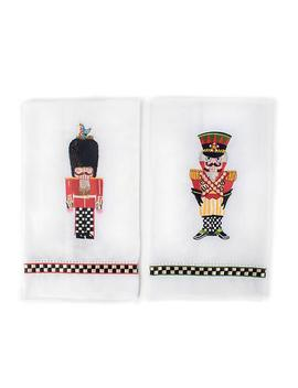 Palace Guards Guest Towels   Set Of 2 by Mac Kenzie Childs