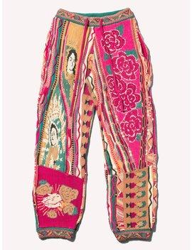7 G Virgin Mary Gaudy Pants by Kapital