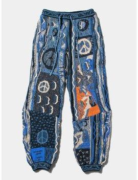 7 G Boro Gaudy Knit Pants by Kapital