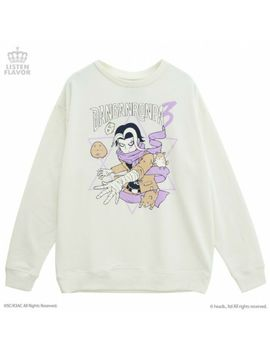 New Danganronpa V3 Listen Flavor Sweat Shirt Gundham Tanaka White From Japan F/S by Ebay Seller
