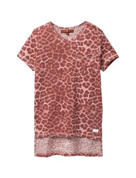 High Low T Shirt (Big Girls) by 7 For All Mankind