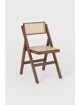 Wooden Folding Chair by H&M