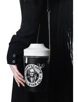 Creepy Coffee Handbag by Killstar