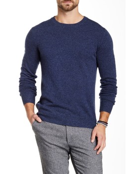Cashmere Crew Neck Sweater by Qi Cashmere