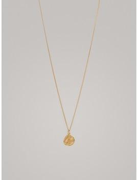 Vergoldete Halskette Mit Sternzeichen Zwillinge by Massimo Dutti