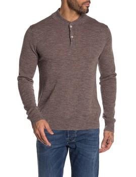 Merino Wool Blend Henley Sweater by Bonobos