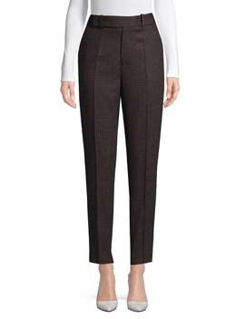 Houndstooth Wool Blend Trousers by Equipment