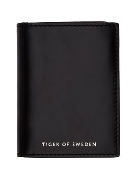 Black Whin Wallet by Tiger Of Sweden