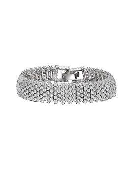 Genevive Silver Bracelet by Genevive