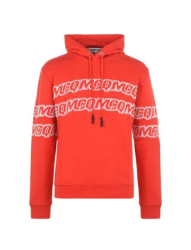 Logo Rerun Over The Top Hoodie by Mcq Alexander Mcqueen