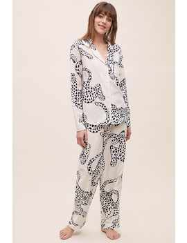 The Jag Print Pyjama Set by Anthropologie