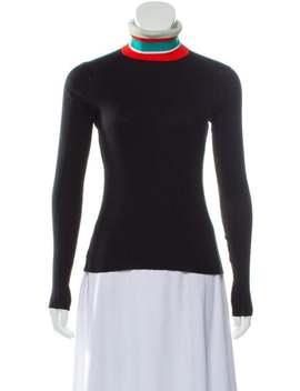 Rib Knit Turtleneck Sweater by Proenza Schouler