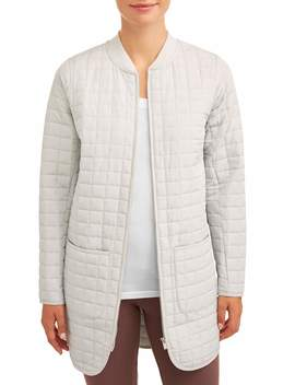 Athletic Works Women's Quilted Tunic Jacket by Athletic Works