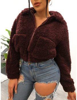 Alora Jacket (Burgundy) by Laura's Boutique