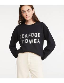 Katie Kimmel Seafood Tower Sweatshirt by Lou & Grey
