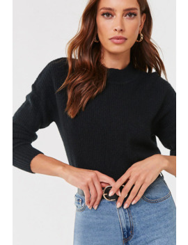 Brushed High Low Sweater by Forever 21
