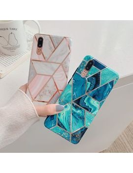 Edgin   Marble Print Phone Case   I Phone 6 / 6 Plus / 7 / 7 Plus / 8 / 8 Plus / X / Xr / Xs / Xs Max by Edgin