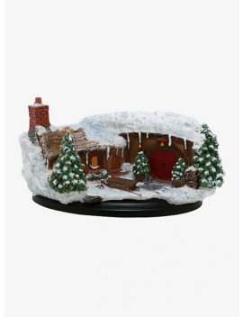 The Hobbit: An Unexpected Journey Hobbit Hole Christmas Edition Miniature by Hot Topic