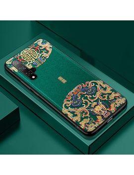 Saphir   Retro Chinese Embossed Print Mobile Case by Saphir
