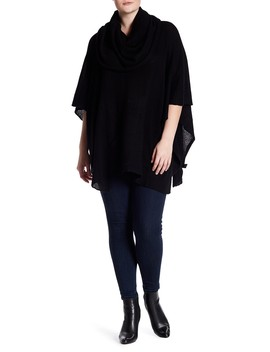 Kimmy Cashmere Poncho (Plus Size) by Naked Cashmere