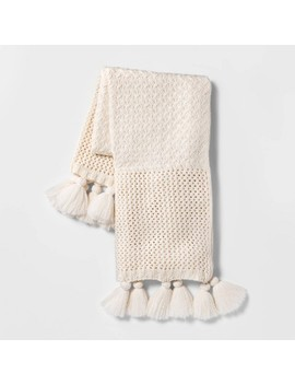 Chunky Knit Throw Blanket   Opalhouse™ by Shop Collections