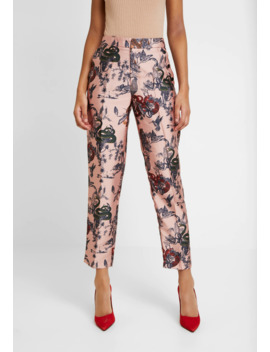 Printed Pants In Shiny Quality   Pantalon Classique by Scotch & Soda