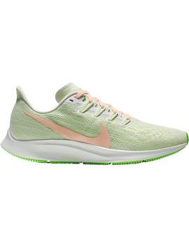 Nike Women's Air Zoom Pegasus 36 Running Shoes   Green/Beige/Volt by Sport Chek
