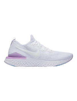 Nike Women's Epic React Flyknit 2 Running Shoes   White/Pink by Sport Chek