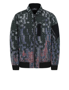 40813 Down Bomber Jacket\N40813 Down Bomber Jacket by Stone Island