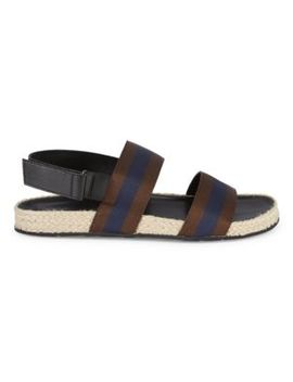 Striped Espadrille Sandals by Saks Fifth Avenue