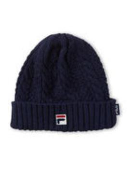 Cable Knit Beanie by Fila