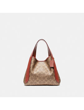 Hadley Hobo 21 In Signature Canvas by Coach