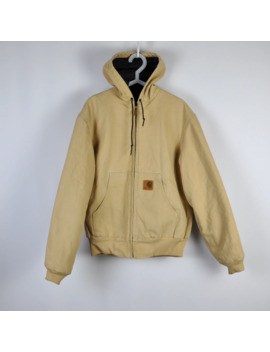 Vintage Carhartt Hooded Active Jacket Usa Made by Vintage  ×  Carhartt  ×  Made In Usa  ×